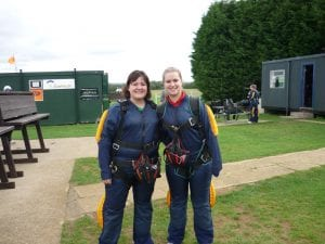 Before the skydive